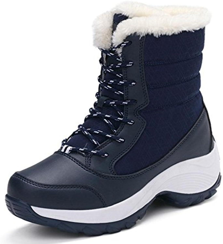 MEILI Scarpe da donna, stivali da donna, oltre a velluto, velluto, velluto, alta per aiutare, pizzo, selvatici, impermeabili, scarponi... | Alta qualità ed economico  4e0561