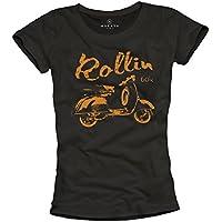 Magletta donna vintage - ROLLIN 60's - T-shirt hippie