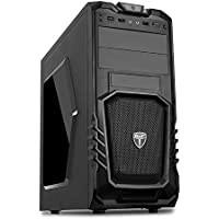 AVP Storm P27 Midi Mesh Gaming Case for Cooling Fan with Window Side Panel - Black