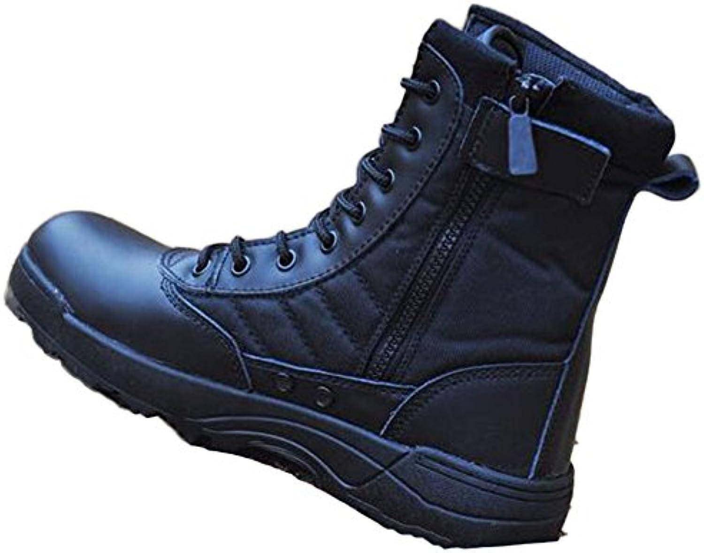 Botas Altas De Senderismo para Hombres Botas Altas para Caminar Botas Militares para Exteriores Botas De Combate...