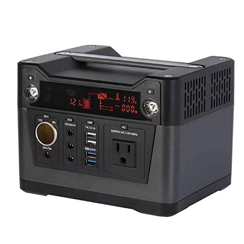 ator, 330WH Inverter Power Supply, Solar Panel/Adapter/Car Charger Charging, Outdoor Adventure Camping Home ()