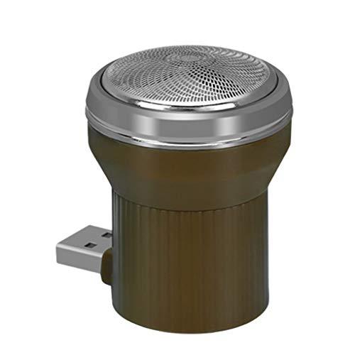 UHAoo Portátil Viaje USB Inalámbrico Afeitar eléctrica