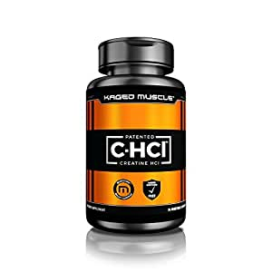 Kaged Muscle C-Hcl, Creatine Hcl, Patented Creatine Capsules - 75 Servings