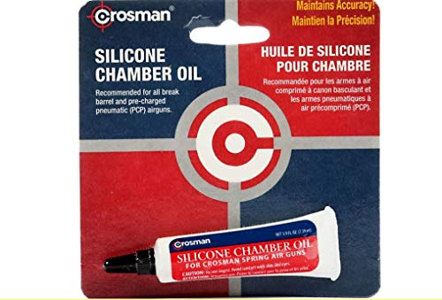 Crosman RMCOIL Silicone Chamber Oil, .25 oz