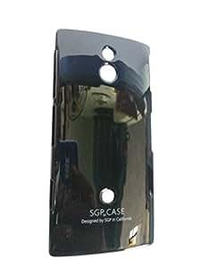 SGP Hard/Plastic Back Cover for Sony Xperia P LT22i- Black