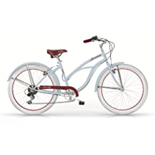 Bicicletta donna Cruiser ruota 26' Honolulu azzurra MBM