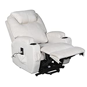 Cavendish electric riser and recliner chair with drink holders - choice of colours