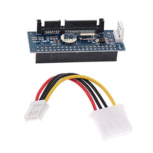 Gazechimp 40 Pin Female IDE Zu 7 + 15P 22 Pin SATA Stecker Adapter 3,5