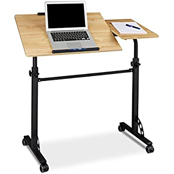 Mobile Laptop Desk Portable Writing Table Incl Cup