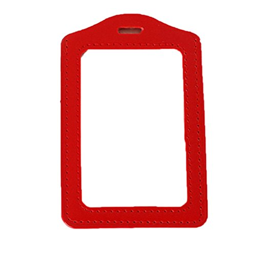 san-bodhir-unisex-faux-leather-frame-clear-case-id-badge-card-holder-cover
