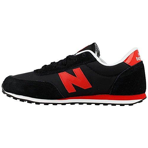 New Balance , Baskets pour homme Negro-Rojo