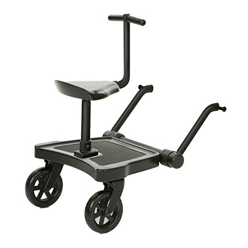 ABC Design 2019 Kiddie Ride On 2 inklusive Sitz -Trittbrett Universal Kiddy Board black