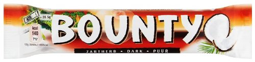 Bounty Dark Double, 57 g - Pack of 24
