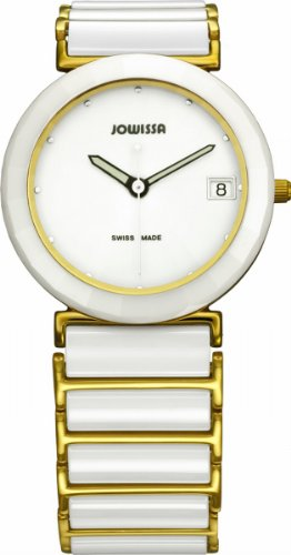 Jowissa Women's J9.005.L Ceramic Classic White dial watch.