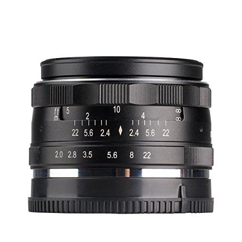 Meike 50 mm F2.0 Prime Lens Manueller Fokus APS-C Kamera Objektiv für olypums Pnasonic Micro 4/3 Mount Cameras