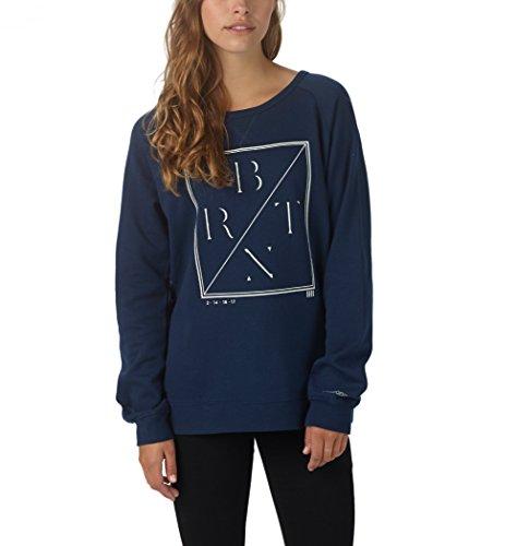 Burton Damen Sweatshirt WB LURCH Crew Indigo