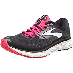 Brooks Glycerin 16, Scarpe da Running Donna, (Black/Pink/Grey 070), 38.5 EU