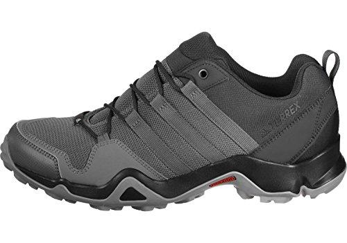 Adidas terrex ax2r–Chaussures de randonnée, homme gris carbone/gris/jaune fluo