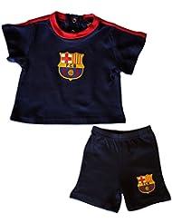 Ensemble T-shirt + short bébé Barça - Collection officielle FC BARCELONE