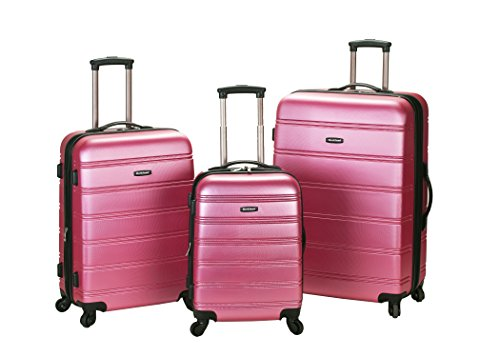 rockland-luggage-melbourne-3-piece-abs-luggage-set-pink-medium