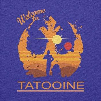 Texlab–Welcome To Tatooine–sacchetto di stoffa Marine