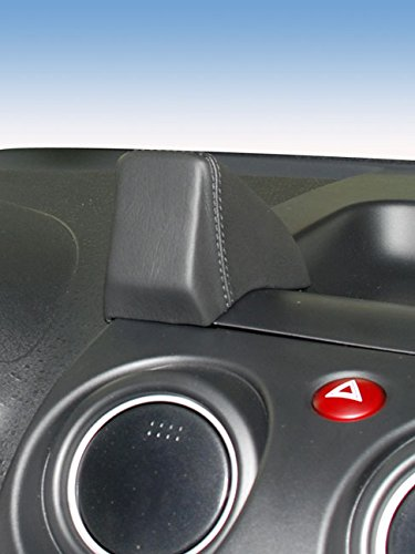 KUDA 286375 Halterung Kunstleder schwarz für Mitsubishi Colt (Z30) ab 11/2008 bis 2012 (Facelift) (Colts-fußmatten)