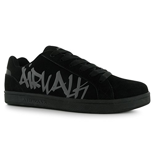 airwalk-neptune-skate-shoes-mens-black-casual-trainers-sneakers-uk9-eu43