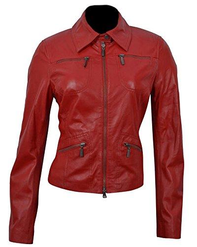 Classyak Damen Mantel Rot - Sheep Red