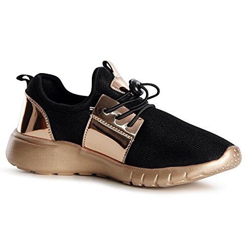 topschuhe24, Sneaker donna, beige (Beige), 39 EU