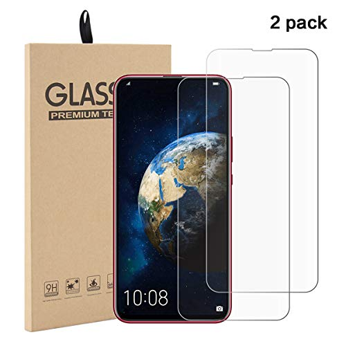 [2 Pack]Huawei Honor Magic 2 Panzerglas Schutzfolie, [9H Härte][Anti-Öl][Anti-Kratzen] Blasenfrei temperierter Film Displayschutz Gehärtetem Glass Displayschutzfolie Folie für Honor Magic 2