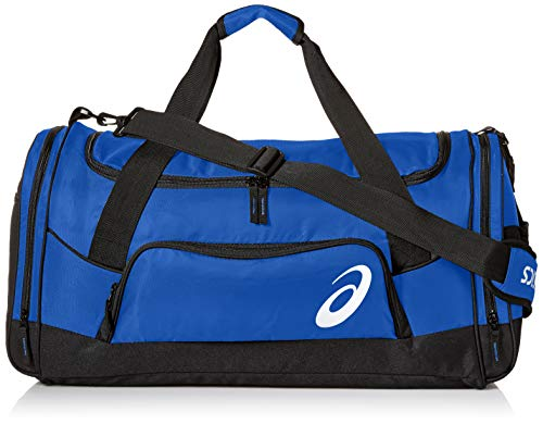 ASICS Unisex-Erwachsene Edge Ii Medium Duffle Tasche, Royal/Black, Einheitsgröße