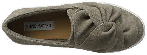 Steve Madden - Knotty Slip-on, Scarpe da ginnastica Donna Grigio (Grey)