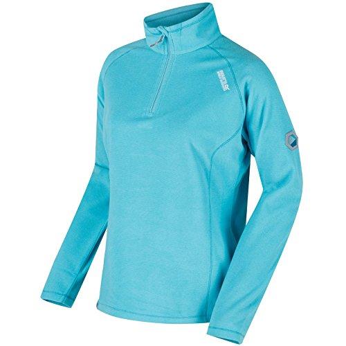 Regatta Womens/Ladies Montes Half Zip Lightweight Microfleece Top - Polyester-microfleece Half Zip Pullover