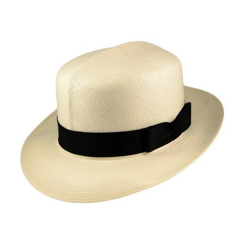 Olney Hats - Sombrero Panamá - Básico - para mujer Marrón natural 881a7379ee0