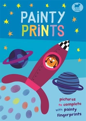 Painty Prints: Pictures to Complete with Painty Fingerprints por Jorge Martin