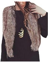 Damen Krepp Stoffe Kapuzenpulli Damen Seitenreißverschluss Ärmelloser Mantel