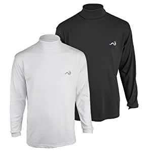 Woodworm Roll Neck Golf Shirt Buy One Get one Free White S
