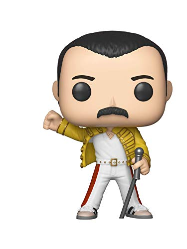 Funko 33732 Pop Vinyl: Rocks: Queen: Freddie Mercury (Wembley 1986), Multi