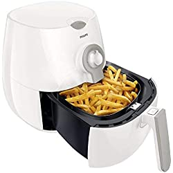 Philips Daily Collection Airfryer Friteuse saine et multicuiseur Capacité 800 g 266 x 292 x 276 mm Bianco