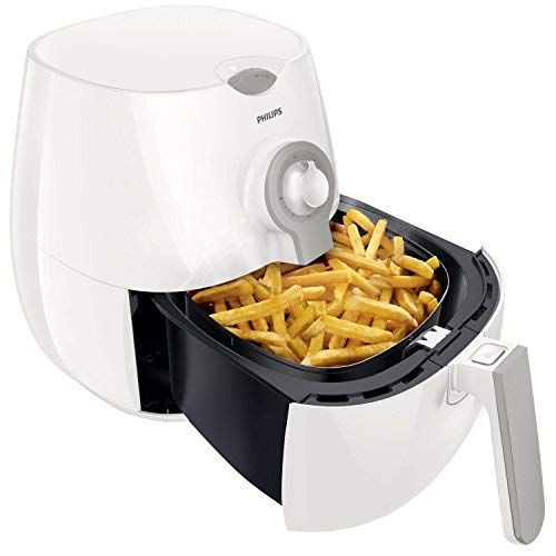 Philips Daily Collection AirFryer Fritteuse Low-oil und Multicooker, Kapazität 800 g Rapid Air Täglich - Weiß 266 x 292 x 276 mm Bianco