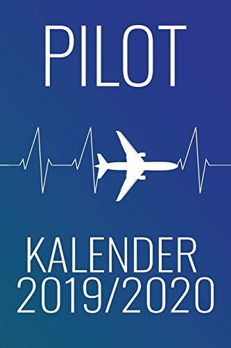 Pilot Kalender 2019/2020: Planer mit Kalender, Schulferien, to do Listen, Agenda also Organizer und für Kontakte - Luftfahrt-kalender