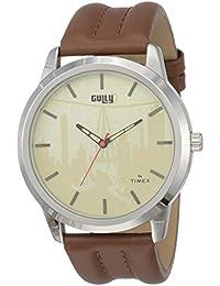 Gully by Timex Hip-hop Analog Gold Dial Men's Watch-TWEG15019