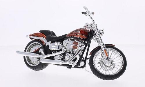 Harley Davidson CVO Breakout, kupfer, 2014, Modellauto, Fertigmodell, Maisto 1:12 (Harley Davidson Autos Modell)