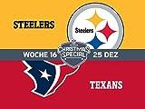 16. Woche: Pittsburgh Steelers gegen Houston Texans
