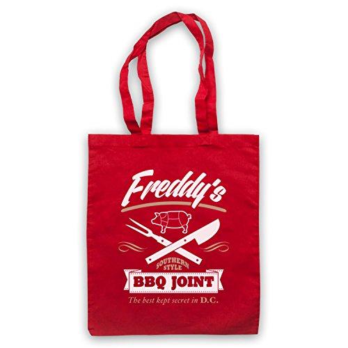 Inspiriert durch House Of Cards Freddy's BBQ Joint Inoffiziell Umhangetaschen Rot