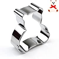 Teddy Bear Cookie Cutter - Stainless