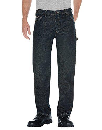 Dickies Men'S Carpenter Jeans Industrial Blue Size 34 X 32
