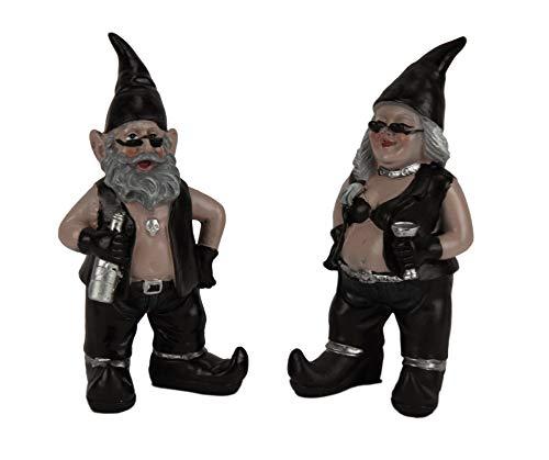 Garten Gnome Outfit - gnoschitt und gnofun Thirsty Zwerge Statue
