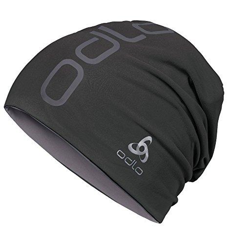 Odlo Cap Hat REVERSIBLE, black/steel grey, One Size, 792680