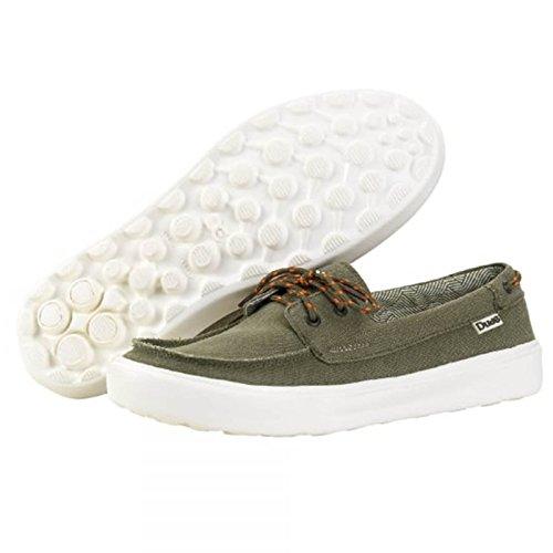 Dude Shoes, Mocassini uomo Olive